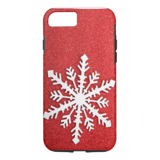 Holiday Sparkles Snowflake iPhone 7 case