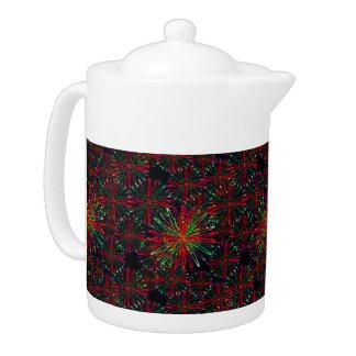 Holiday Sparkles tea pot