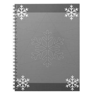 holiday spiral notebook