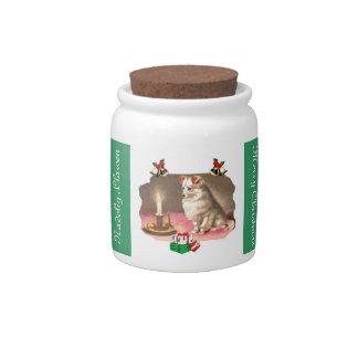 Holiday Spirit Candy Jar