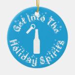 Holiday Spirits Ornament