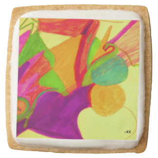 Holiday Square Shortbread Cookie