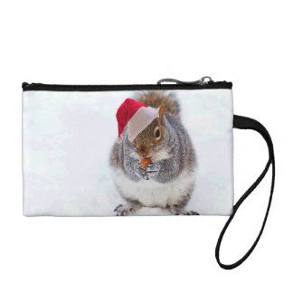 Holiday Squirrel Coin Wallet