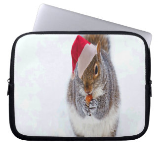 Holiday Squirrel Laptop Sleeve