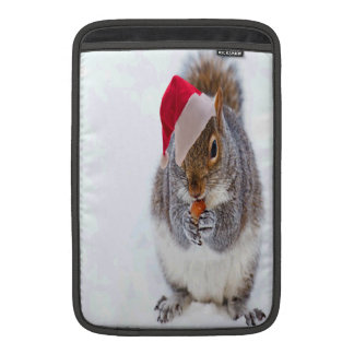 Holiday Squirrel Sleeve For MacBook Air