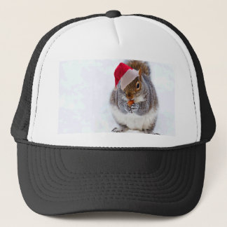 Holiday Squirrel Trucker Hat