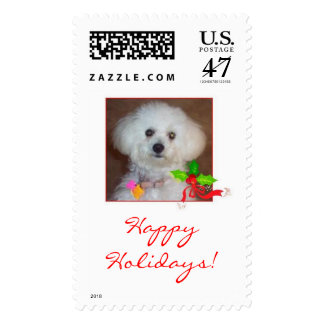 holiday stamp, Happy Holidays! Postage