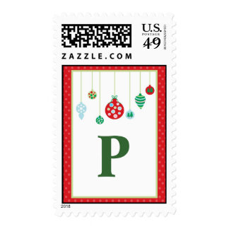 Holiday Stamp Postage PERSONALIZED