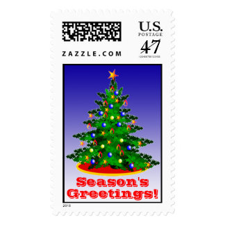 Holiday Stamps Christmas Tree