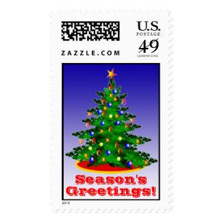 Holiday Stamps Christmas Tree