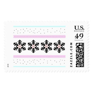Aztec Themed Holiday stamps- large postage