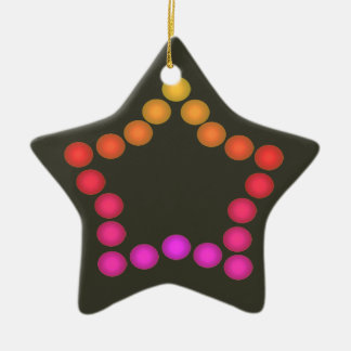 Holiday Star Ornament Christmas Spectrum Colors 11