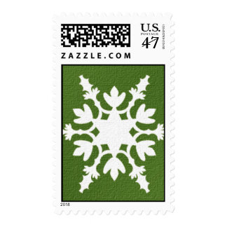 Holiday star Postage Stamps