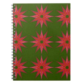 Holiday Star Vintage Notebook