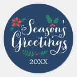 Holiday Sticker Seals | Season's Greetings