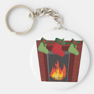 Holiday Stockings Keychain
