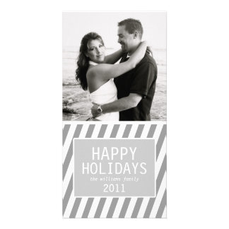 Holiday Stripes Card