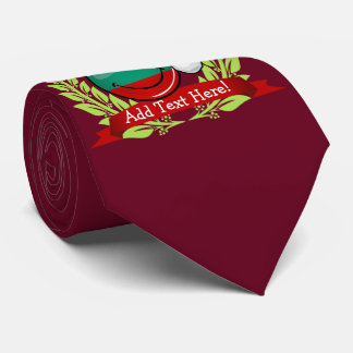 Holiday Style Bulgarian Flag Neck Tie
