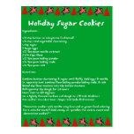 Holiday Sugar Cookies Post Cards