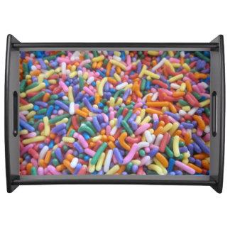 Holiday Sugar Sprinkles Food Tray