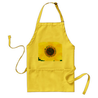 Holiday Sunflower Apron
