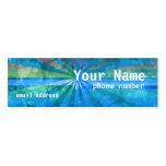 Holiday Sunshine Profile Card Business Card Template