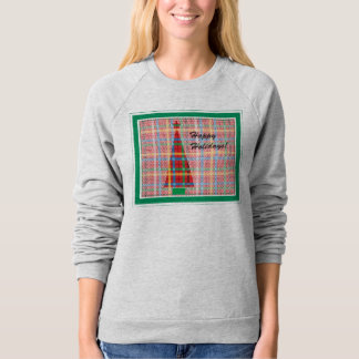 Holiday Sweater in Plaid Tee Shirt