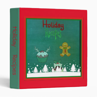 holiday sweet treat recipe binder
