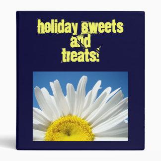Holiday Sweets and Treats! recipe binder Daisy