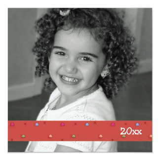 Holiday Sweets Square Photo Card