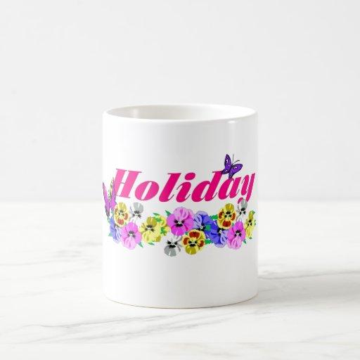 Holiday Taza Básica Blanca