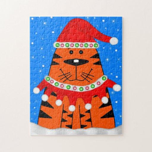 Holiday Tiger Puzzles