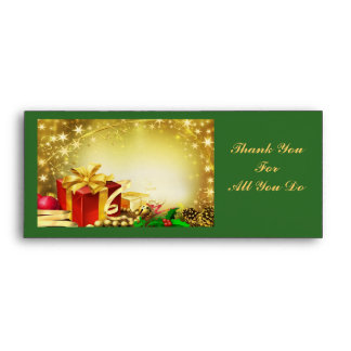 Holiday Tip Envelopes