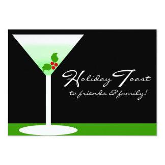 Holiday Toast Party Invitation