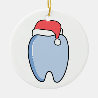 Holiday Tooth Ornament