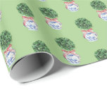 Holiday Topiary by Redux121DesignStudio Wrapping Paper