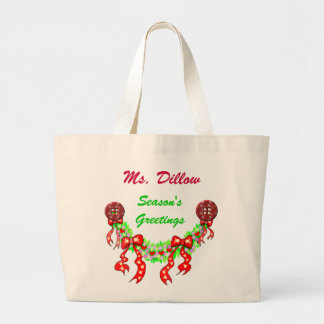 HOLIDAY TOTE BAG TEMPLATE