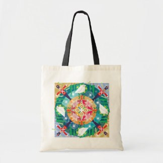 Holiday tote canvas bag