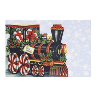 Holiday Train Placemat