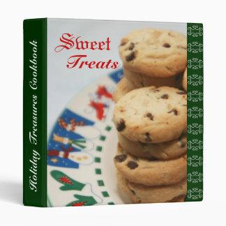 Holiday Treasures Recipe Cookbook Binder