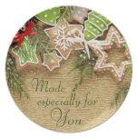 Holiday Treats Gift Plate