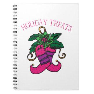 Holiday Treats Note Books