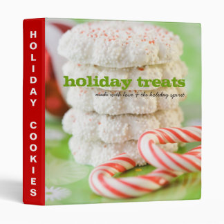 Holiday Treats Recipe Binder