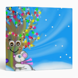 Holiday Tree 3-Ring Binder