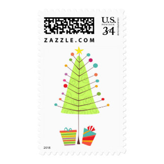 Holiday Tree Cheer Postage