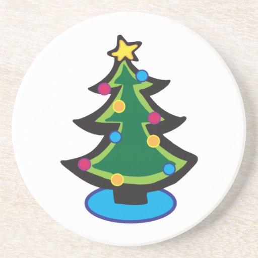 Holiday Tree Coasters