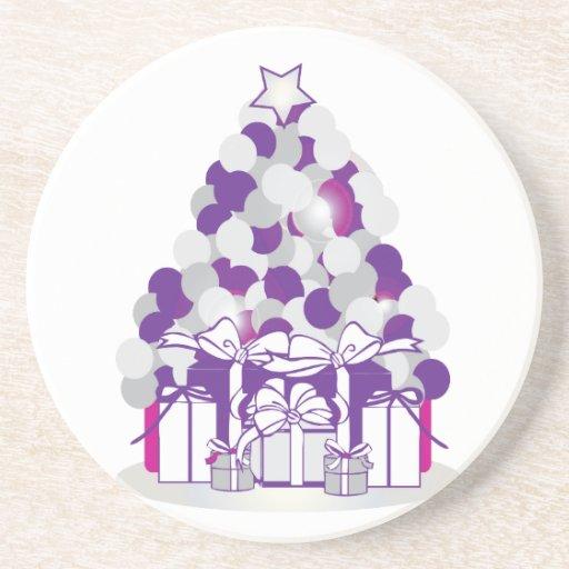 Holiday Tree Drink Coasters