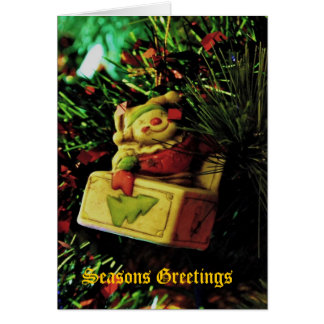 Holiday Tree Ornament - Greeting Card