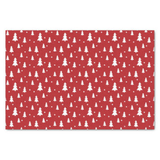 "Holiday Tree Pattern 10"" X 15"" Tissue Paper"