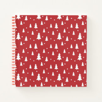 Holiday Tree Pattern Notebook